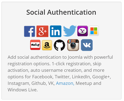 social media authentication